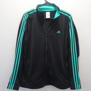 Woman's Adidas Track Jacket Full Zip XL